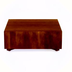 Mesa de centro tabaco minimalista